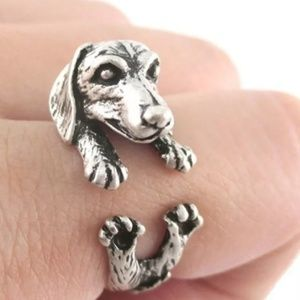 Dachshund Dog Lover Wrap Ring NewBoutique for sale
